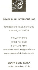 advertisement for http://beatabuhlinteriors.com