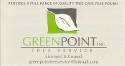 advertisement for http://www.greenpointtree.com